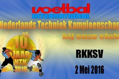 Nederlands techniek kampioenschap bij RKKSV